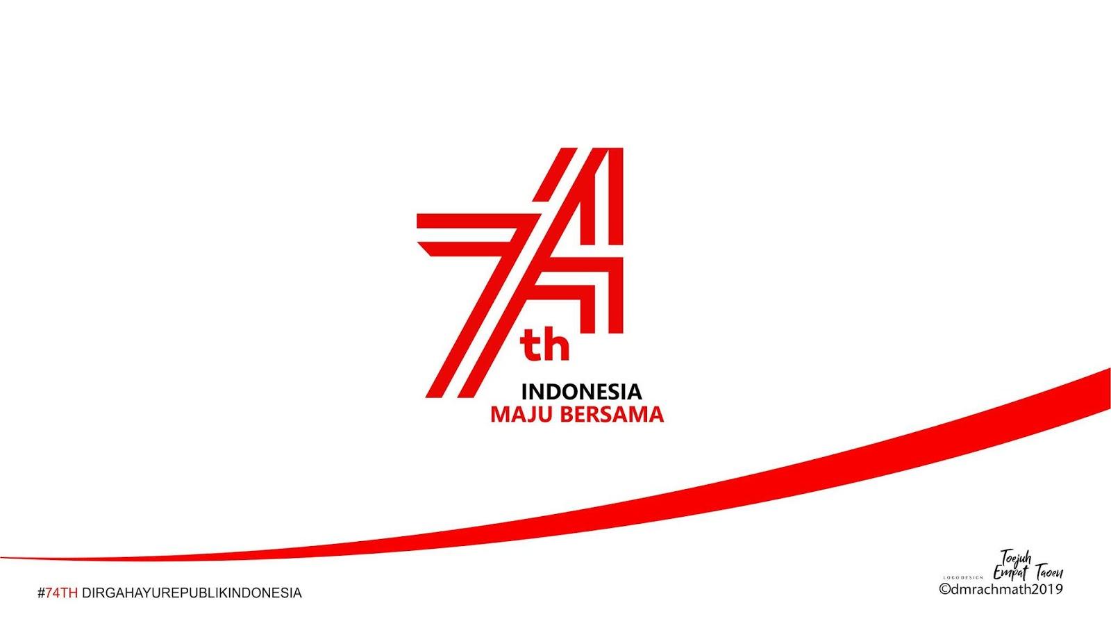 Hari Ulang Tahun<BR>Republik Indonesia ke 74